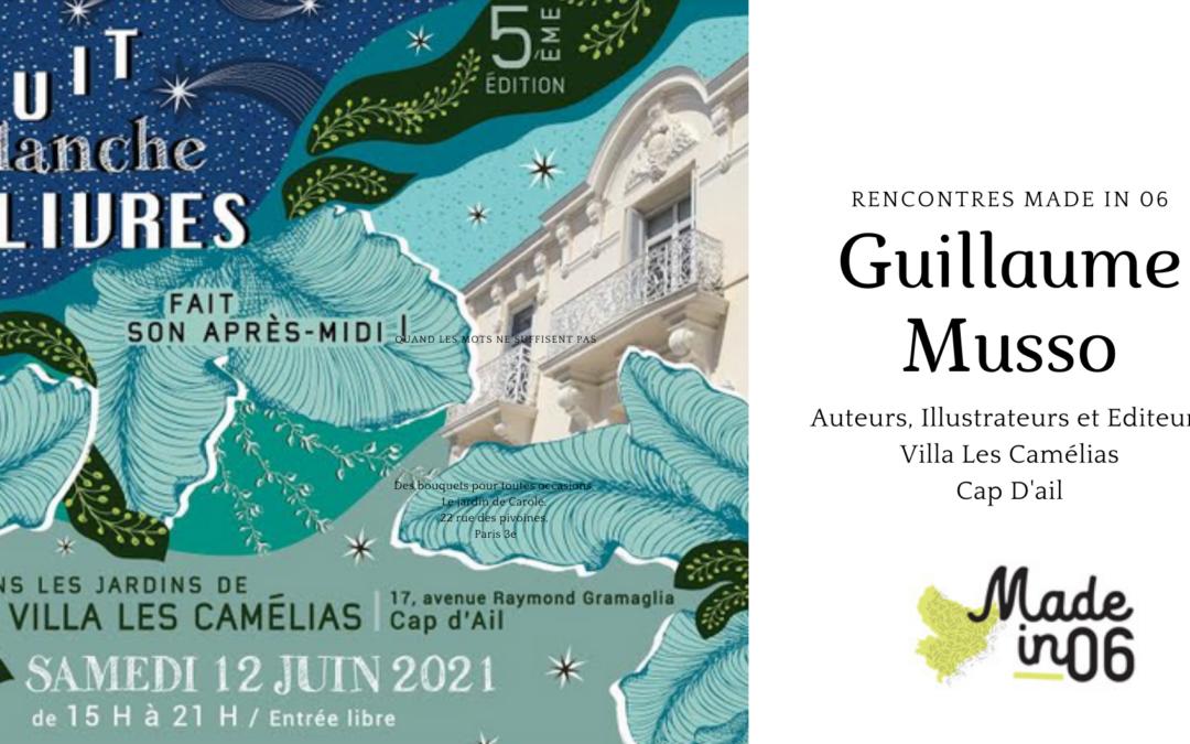 Guillaume Musso, un auteur Made in 06